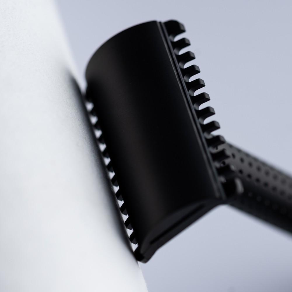Máquina de Barbear Tatara Razors Dark Masamune - Cabeçal Aberto
