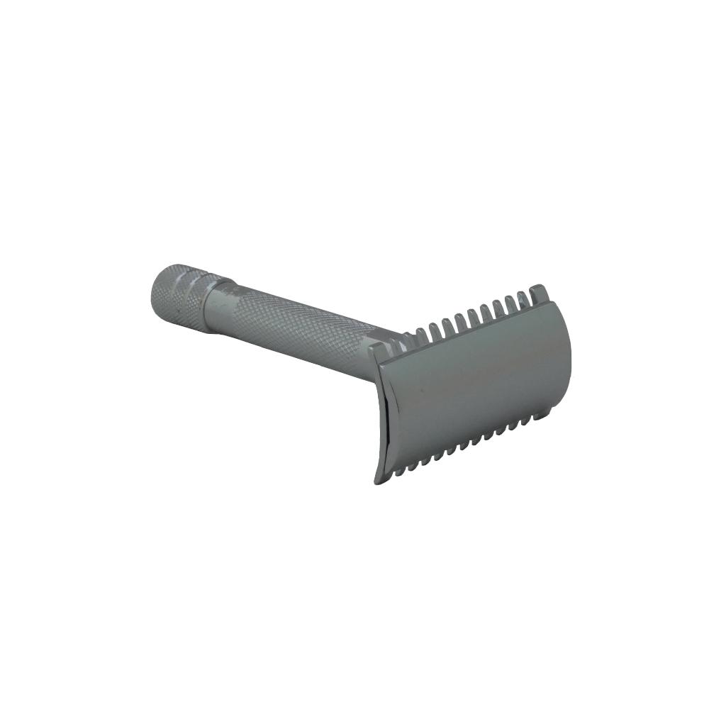 Máquina de Barbear Merkur 15C - Cabeçal Aberto - Cabo Curto