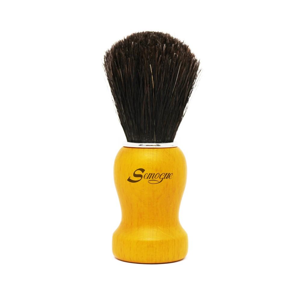 Pincel de Barba Pharos-C3 Cavalo Pure Black Amarelo