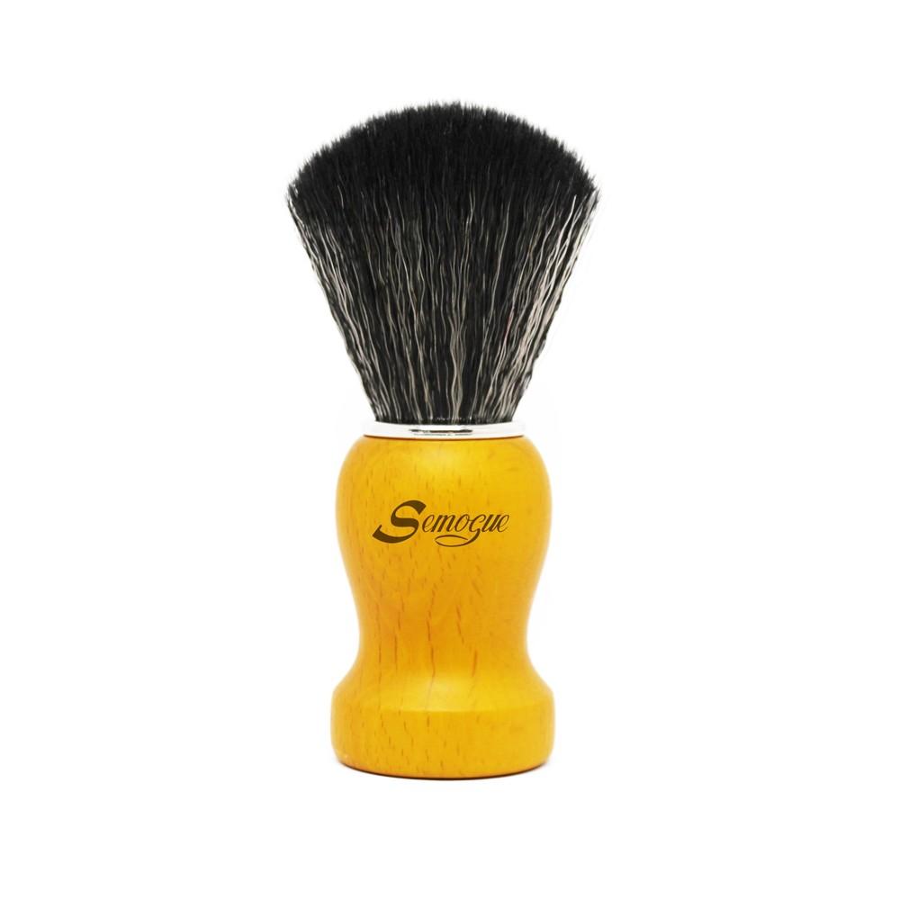 Pincel de Barba Semogue Pharos-C3 Sintético Amarelo