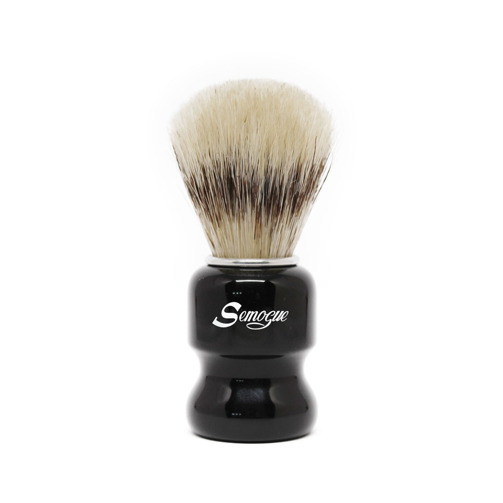 Pincel de Barba Semogue Torga-C3 Cerda Extra IT Jet Black