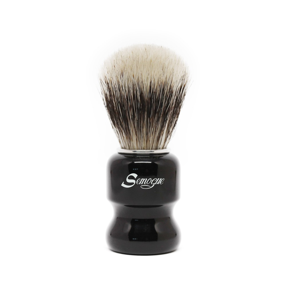Pincel de Barba Semogue Torga-C3 Mistura Finest Jet Black