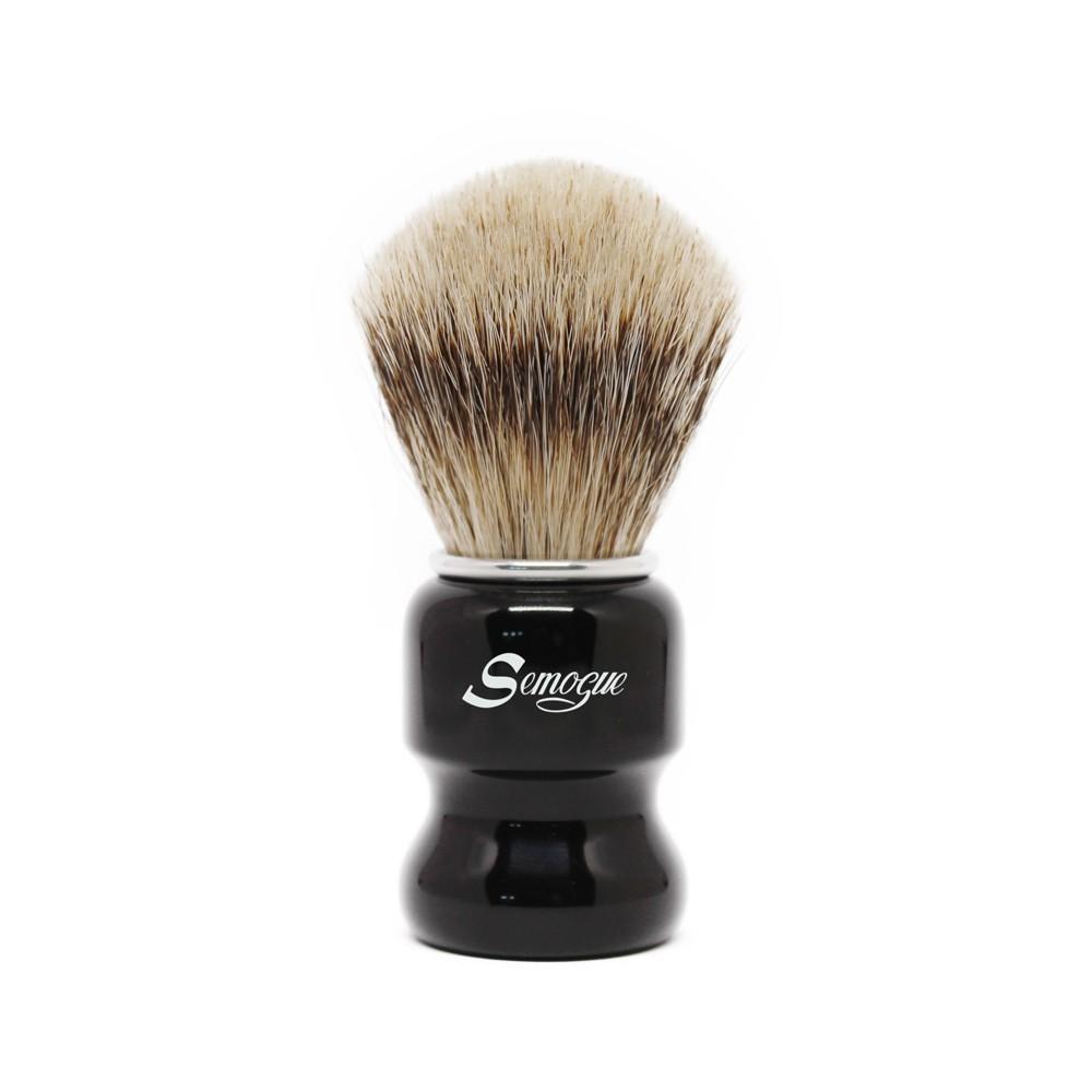 Pincel de Barba Semogue Torga-C5 Texugo Silvertip
