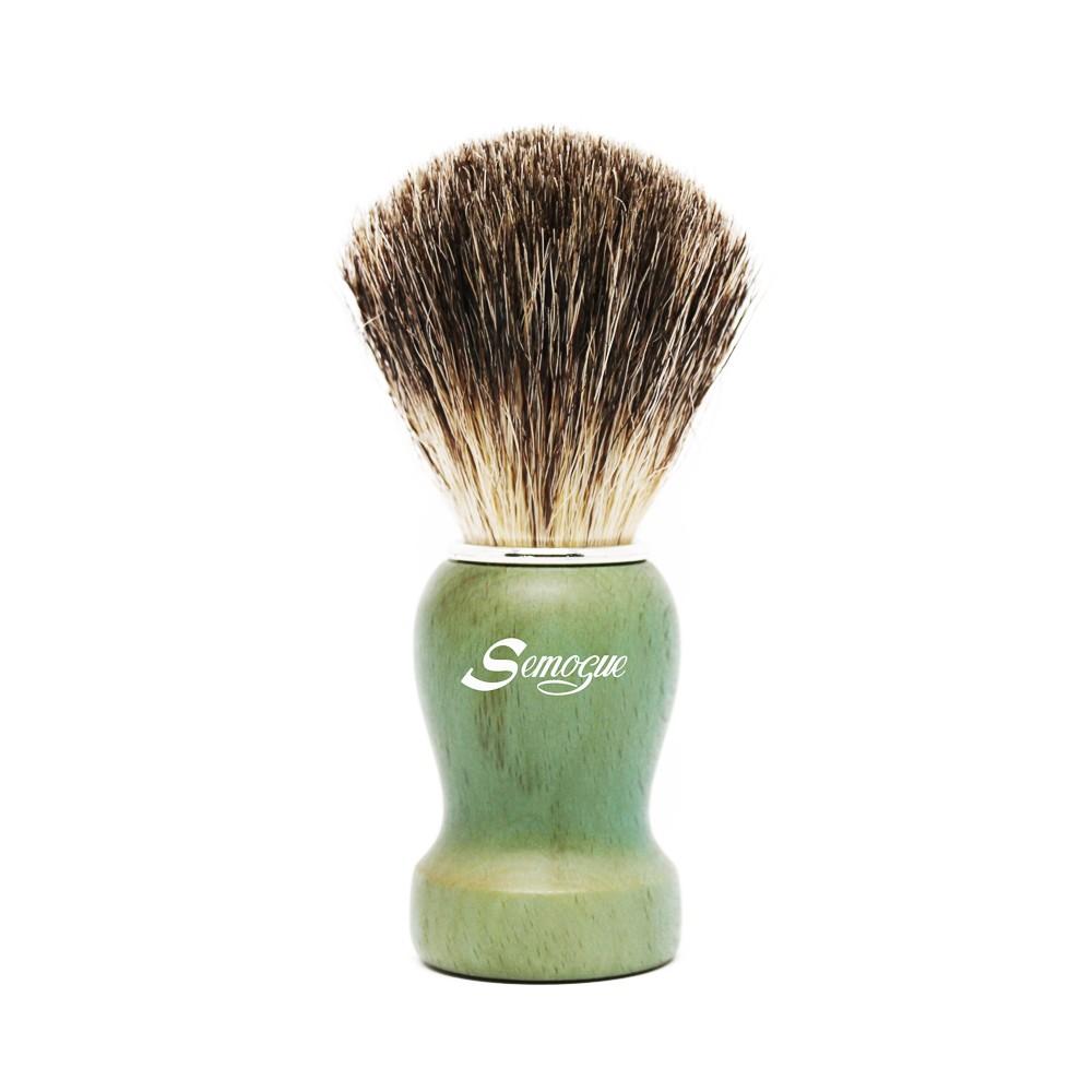 Pincel de Barba Pharos-C3 Texugo Pure Grey Verde Oceano