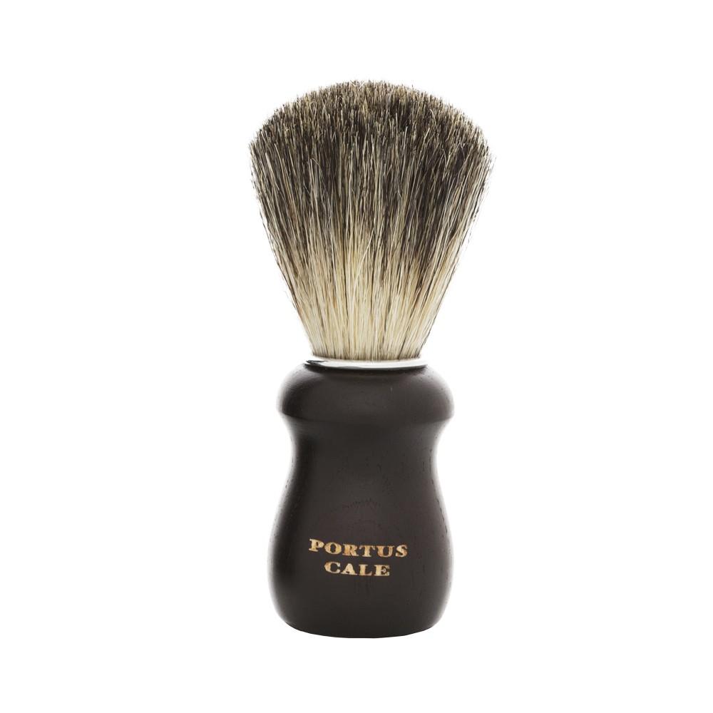 Pincel de Barba Antiga Barbearia de Bairro Preto Dourado
